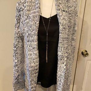 GAP chunky knit sweater cardigan size XS